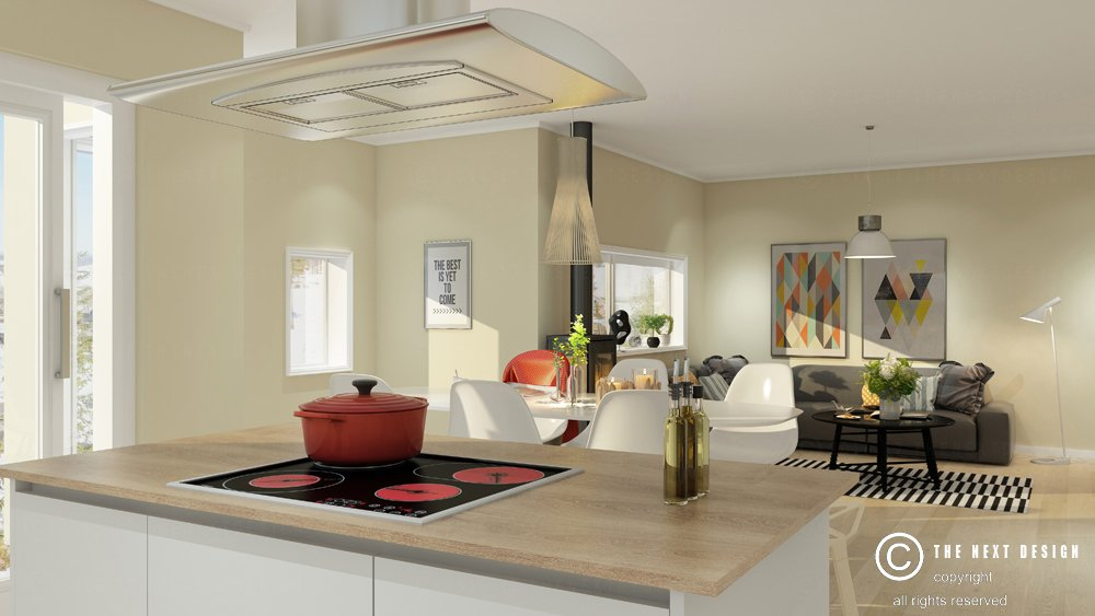 schillaci visualizations rendering kitchen ltd cover perspective residence architects portfolio interior